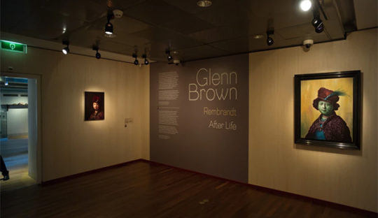 Beersnielsen belichten Glenn Brown Het Rembrandthuis