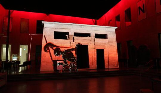 Tempelzaal RMO lichtplan door Beersnielsen lichtontwerpers
