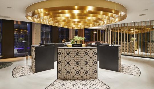 Hotel QO, lighting design by Beersnielsen Lighting Designers