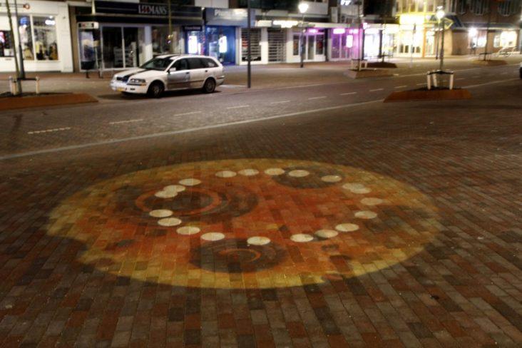Lichtontwerp winkelgebied Beverwijk door Beersnielsen Lichtontwerpers