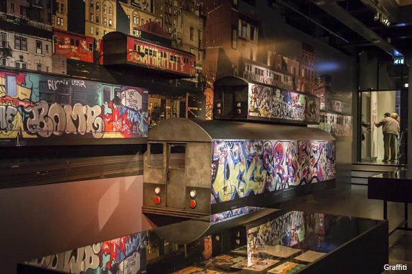 Amsterdam Museum tentoonstelling Graffiti belicht door Beersnielsen Lichtontwerpers