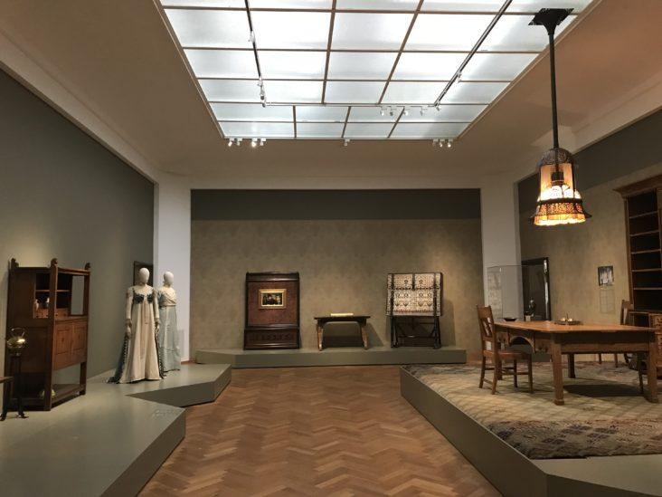 Art Nouveau Gemeentemuseum Den Haag belicht door Beersnielsen lichtontwerpers