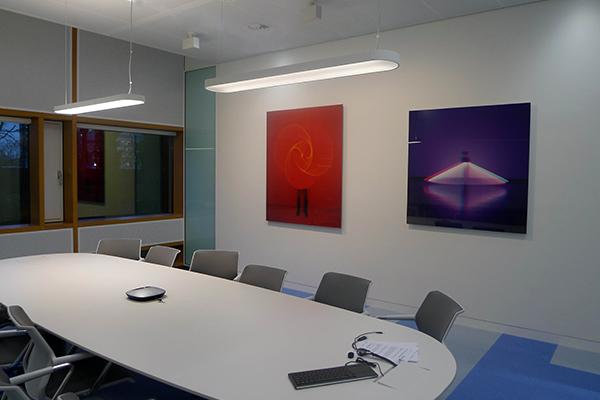 Lichtontwrep Akzo Nobel HQ door Beersnielsen Lichtontwerpers