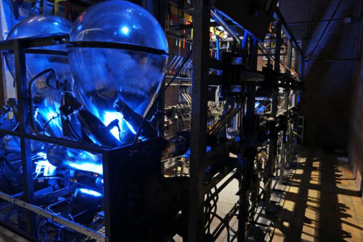 Transormatorhuis licht door Beersnielsen lichtontwerpers
