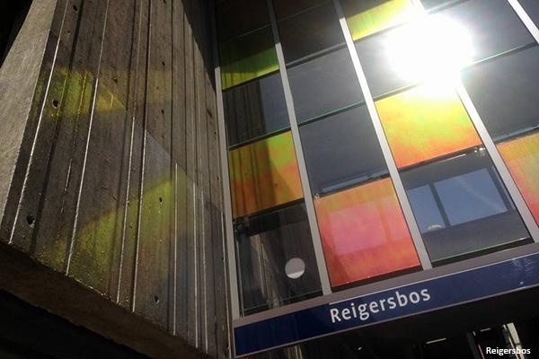 Lichtontwerp Metro Oostlijn Amsterdam door Beersnielsen