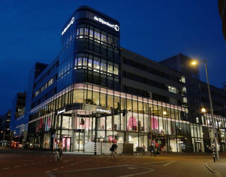 Bijenkorf Utrecht Lichtontwerp Beersnielsen