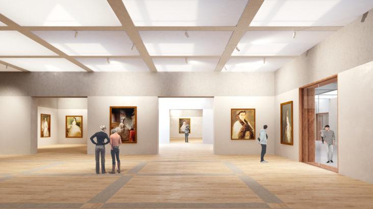 Paleis het Loo Lichtontwerp Beersnielsen _ exhibition space