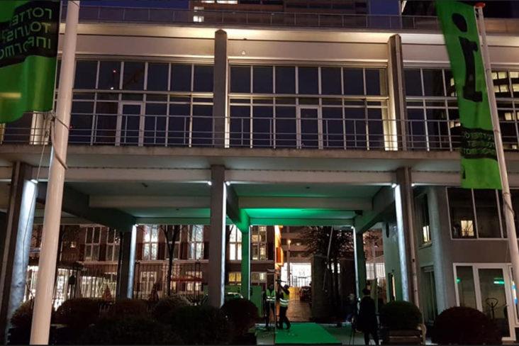 Lichtplan Schielandshuis Rotterdam door Beersnielsen Lichtontwerpers