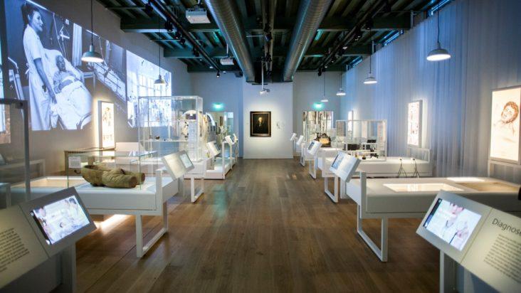 Lichtplan Museum Boerhaave door Beersnielsen lichtontwerpers