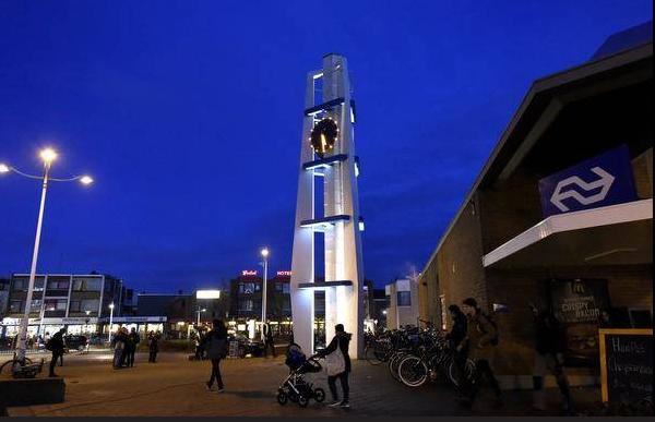 Beersnielsen Lighting Design Sationsplein in Den Helder