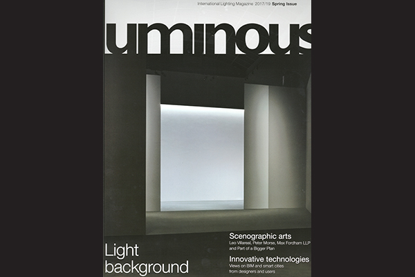 Beersnielsen lighting designers in Luminous