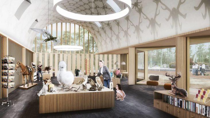Lichtontwerp Bezoekerscentrum Hoge Veluwe door Beersnielsen lichtontwerpers