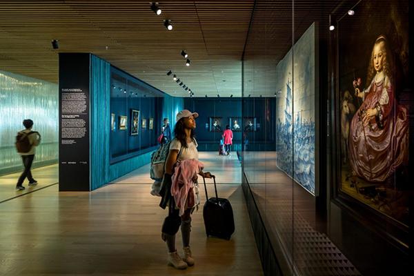 Rijksmuseum Schiphol belicht door Beersnielsen