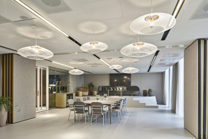 Hotel QO, lighting design by Beersnielsen Lighting Designers