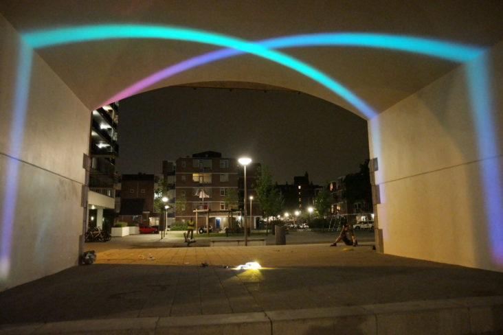 Beersnielsen Lighting designers Hofbogen Rottedam
