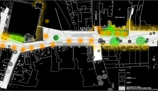 Hengelo analysis and vision for the lighting design of the city center by Beersnielsen