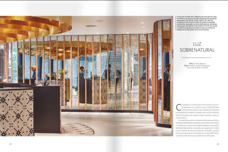 Beersnielsen in L+D Magazine - Hotel QO Amsterdam