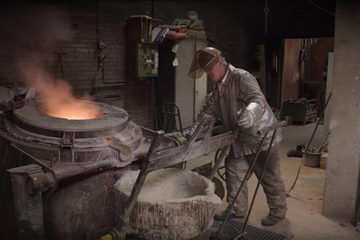 The making of De Bolder in Den Helder