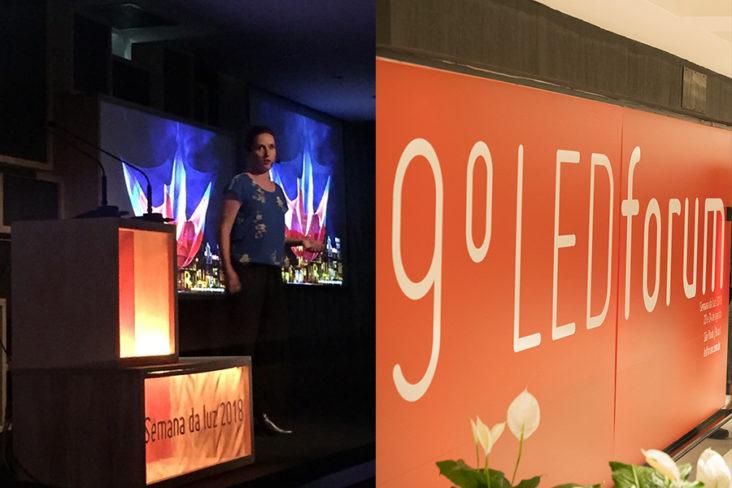 Sao Paulo LED Forum 2018 Mieke van der Velden lighting designer at Beersnielsen