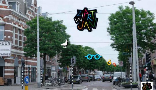Beersnielsen icons Zwart Jan en Noordmolenstraat
